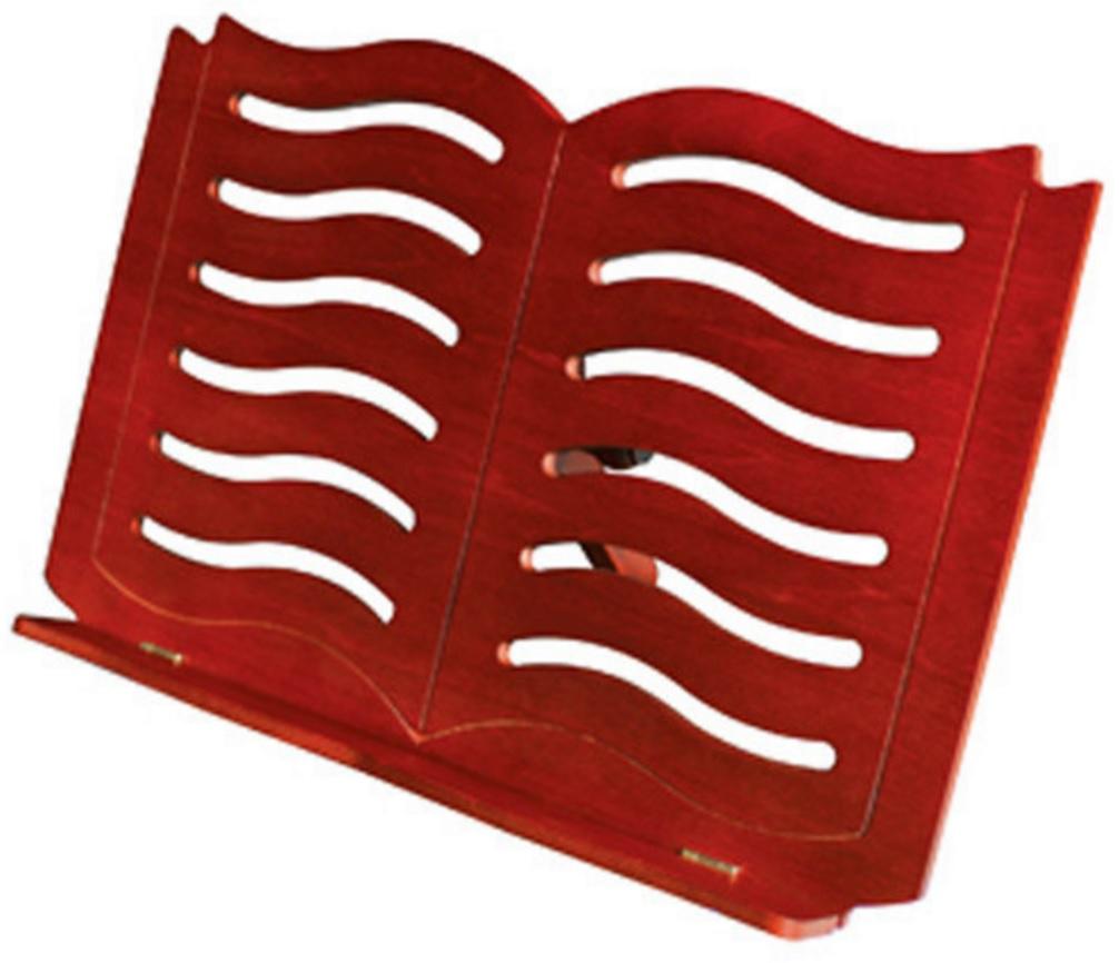 Leggio da tavolo in legno small book cherry made in europe - Costruire un leggio da tavolo ...