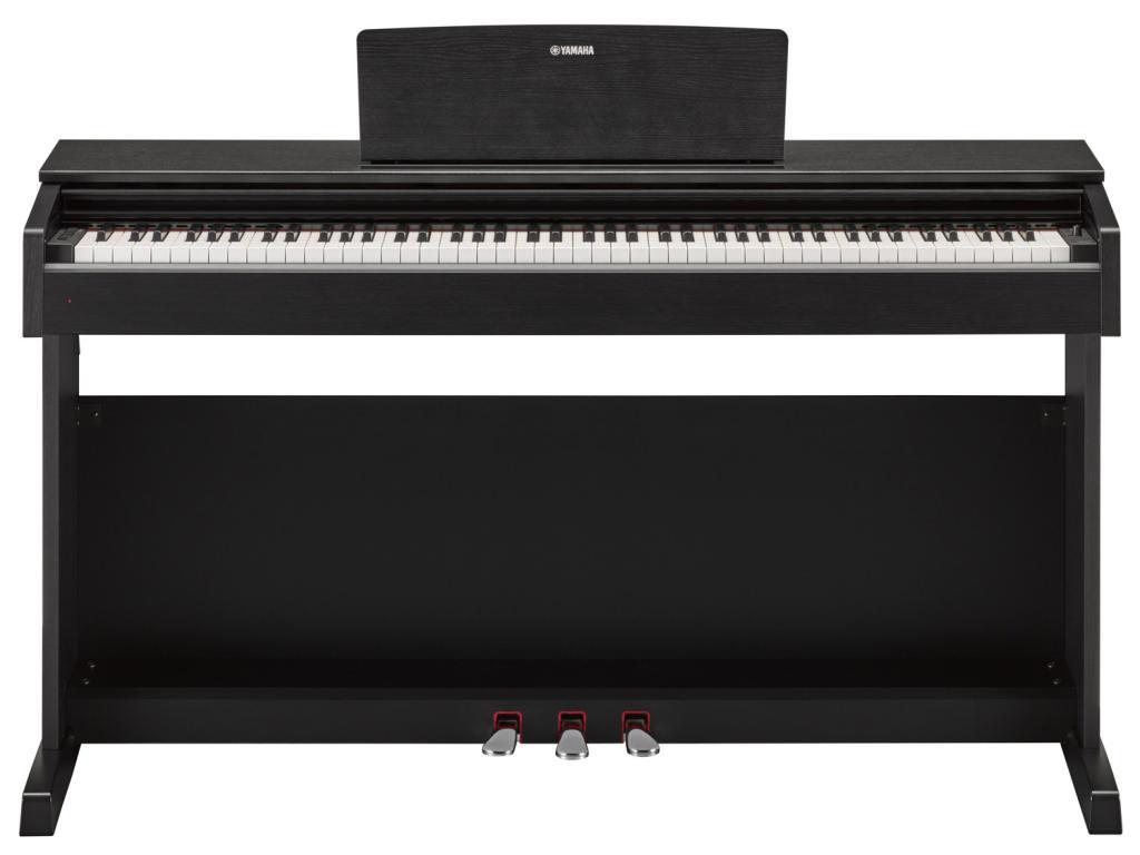 yamaha ydp 143 arius black pianoforte digitale arranger 88. Black Bedroom Furniture Sets. Home Design Ideas