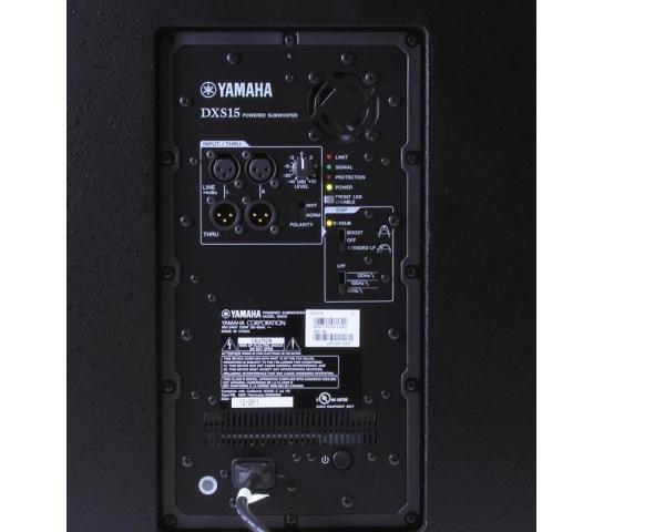 yamaha dxs15 subwoofer attivo 15 950 watt. Black Bedroom Furniture Sets. Home Design Ideas