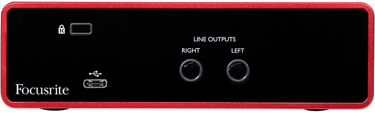 FOCUSRITE SCARLETT SOLO INTERFACCIA AUDIO USB 2 IN 2 OUT SCHEDA AUDIO TERZA GENERAZIONE ( 3RD GEN ) GENERATION MKIII 1