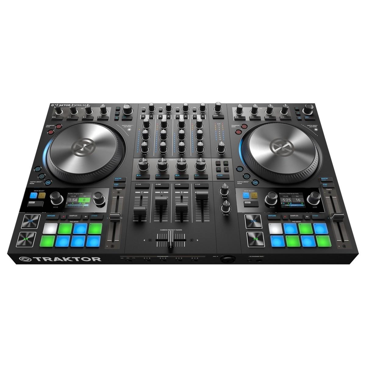 NATIVE INSTRUMENTS TRAKTOR KONTROL S4 MKIII CONTROLLER DJ MIDI MK3 4 CANALI 24 BIT 96KHZ 2