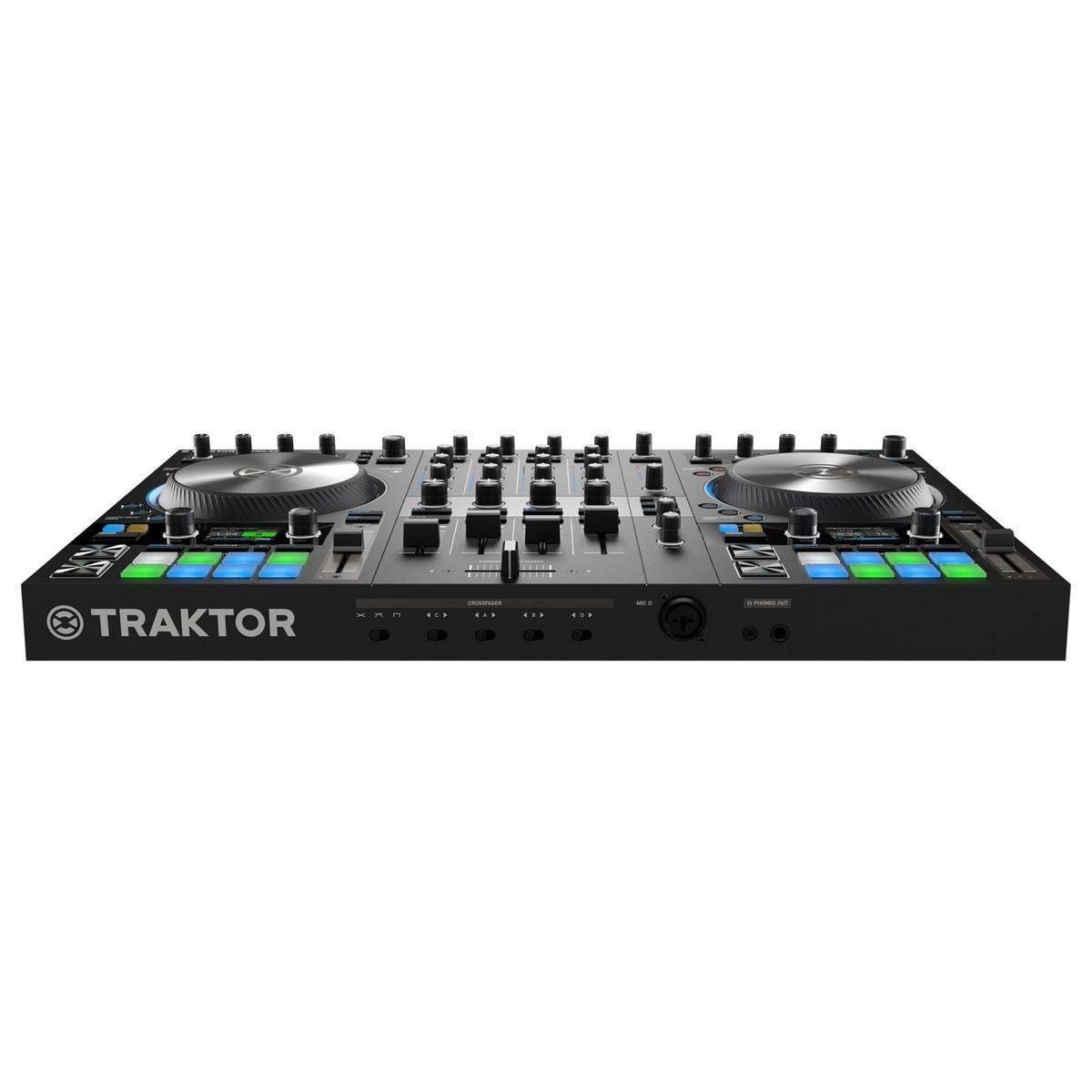 NATIVE INSTRUMENTS TRAKTOR KONTROL S4 MKIII CONTROLLER DJ MIDI MK3 4 CANALI 24 BIT 96KHZ 3