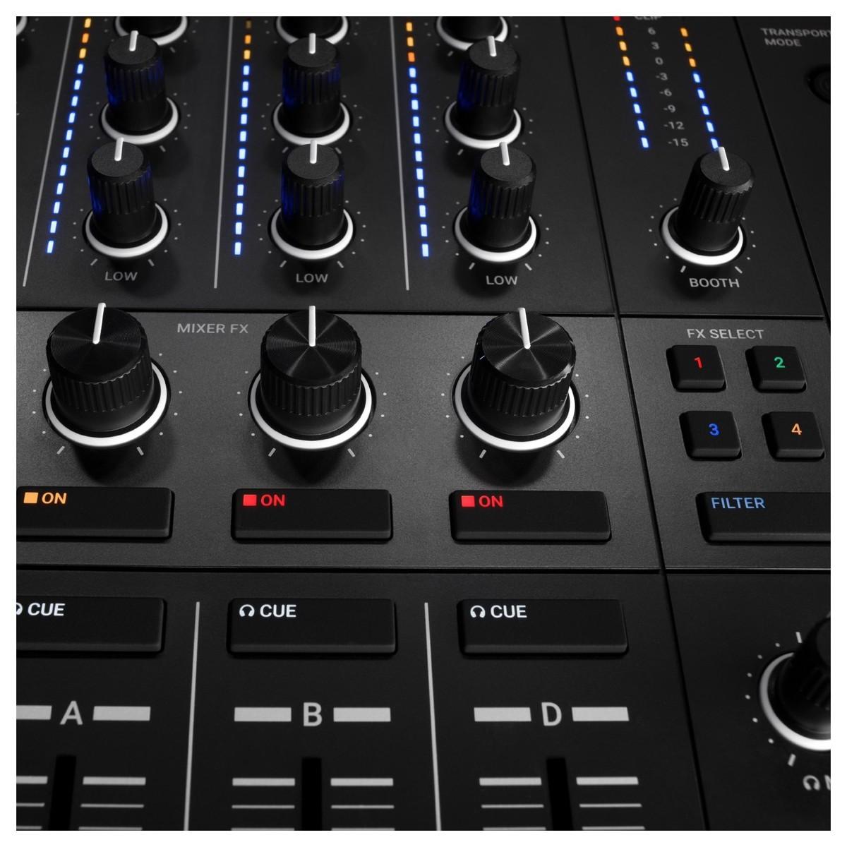 NATIVE INSTRUMENTS TRAKTOR KONTROL S4 MKIII CONTROLLER DJ MIDI MK3 4 CANALI 24 BIT 96KHZ 8
