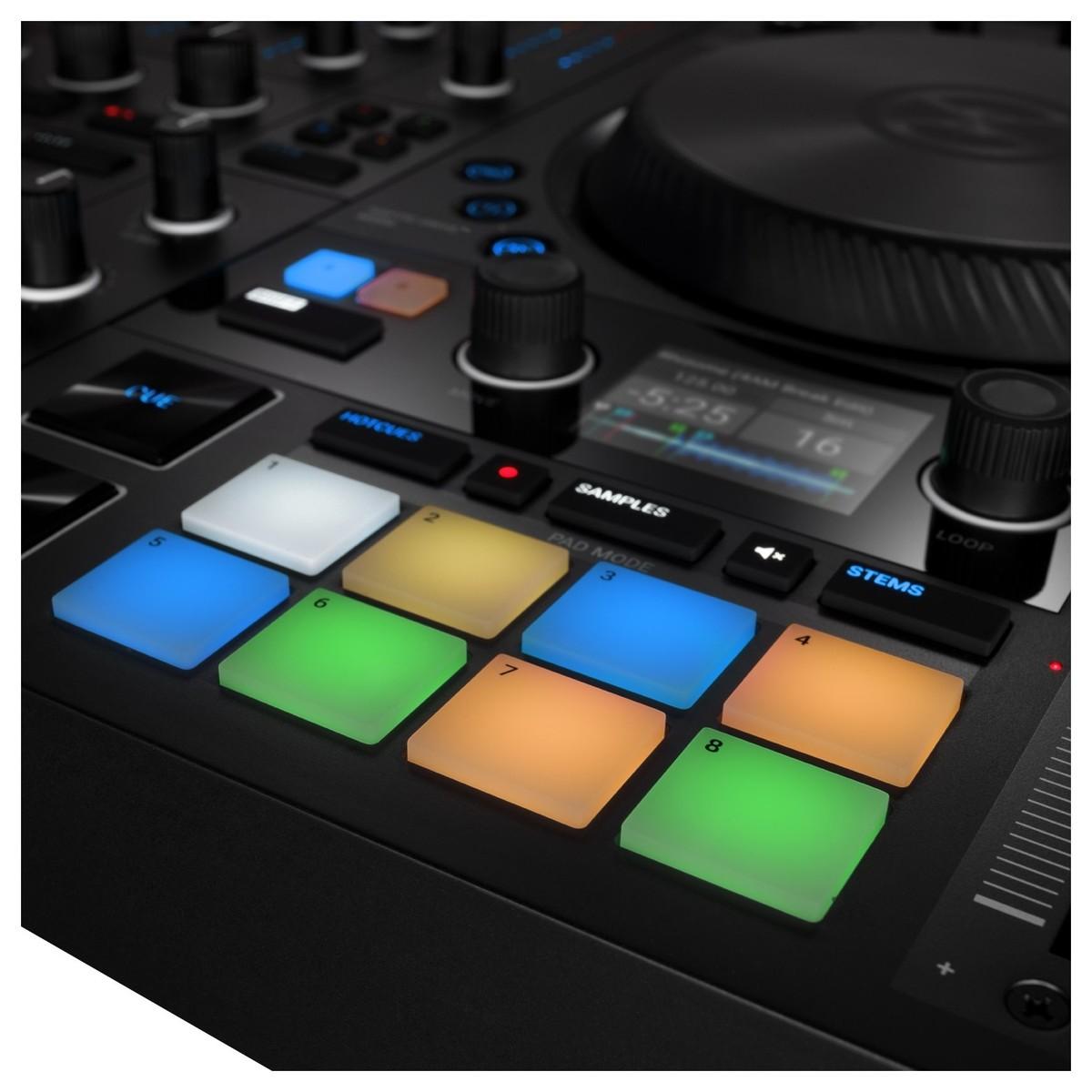 NATIVE INSTRUMENTS TRAKTOR KONTROL S4 MKIII CONTROLLER DJ MIDI MK3 4 CANALI 24 BIT 96KHZ 9