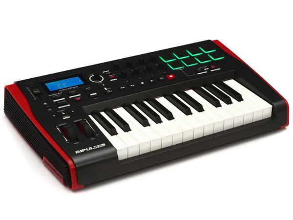 NOVATION IMPULSE 25 TASTIERA CONTROLLER MIDI USB 25 TASTI SEMIPESATI 1