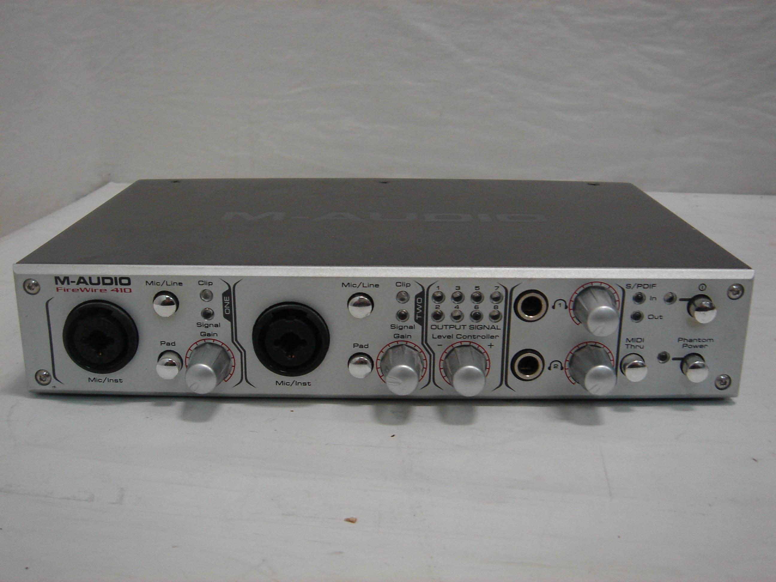 m audio firewire 410 scheda audio 24 bit 96 khz firewire usata. Black Bedroom Furniture Sets. Home Design Ideas