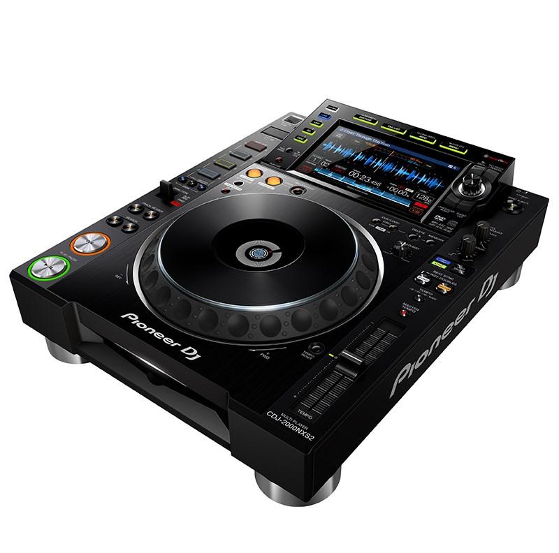 PIONEER CDJ 2000-NXS NEXUS 2 BLACK CD PLAYER PROFESSIONALE PER DJ 2