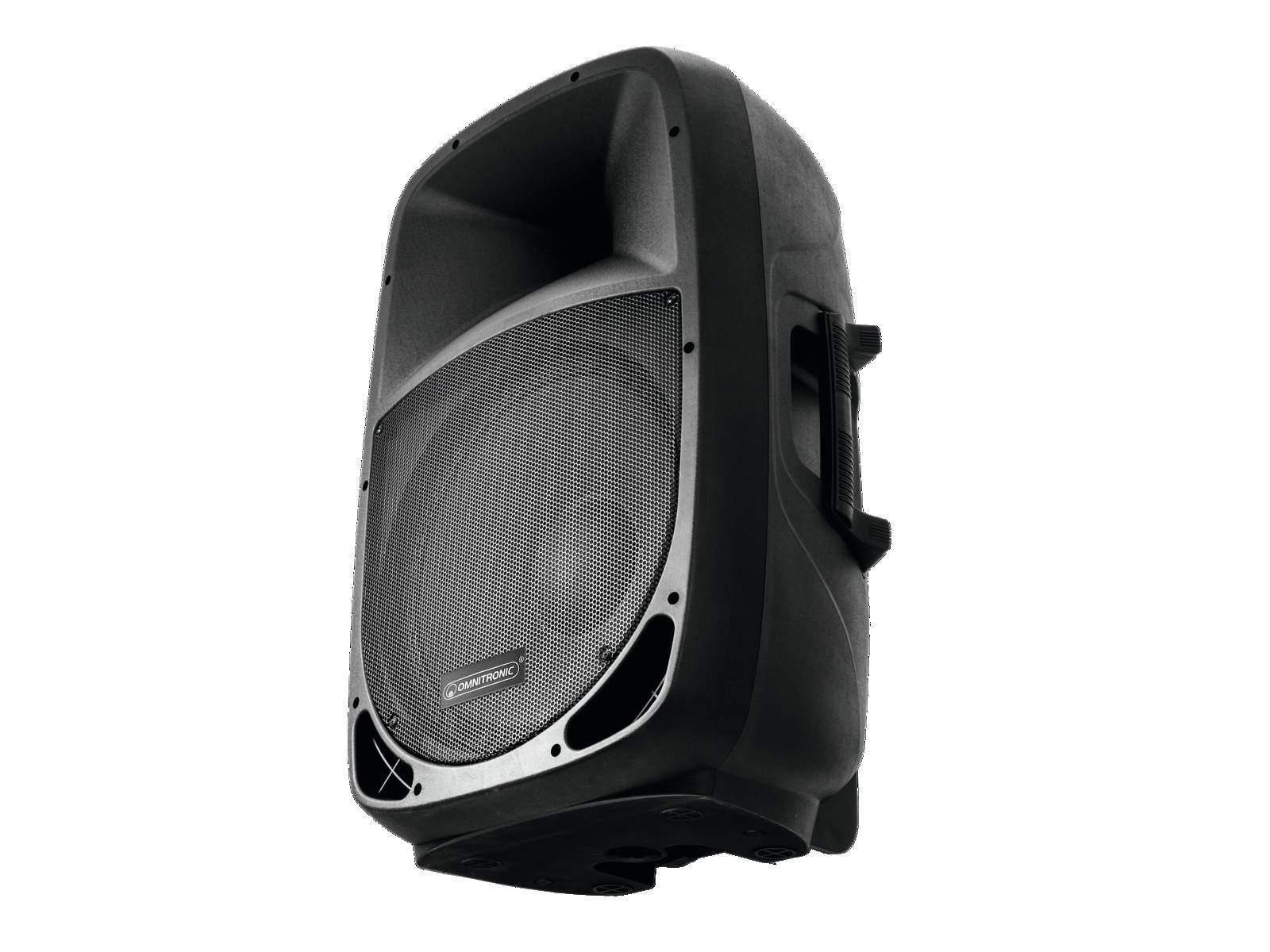 OMNITRONIC VFM 215 AP CASSA ATTIVA CON PLAYER MP3 INTEGRATO USB SD BLUETOOTH 2