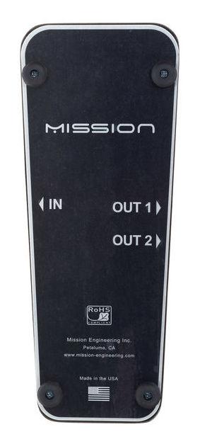 MISSION ENGINEERING EP-1-BK PEDALE DI ESPRESSIONE PER APPARECCHIATURE MIDI AMPLIFICATORI DIGITALI CASE IN METALLO 3