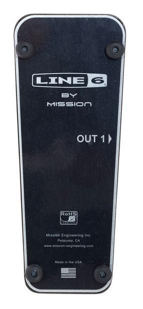 MISSION ENGINEERING EP1-L6-BK PEDALE DI ESPRESSIONE PER DISPOSITIVI LINE 6 3
