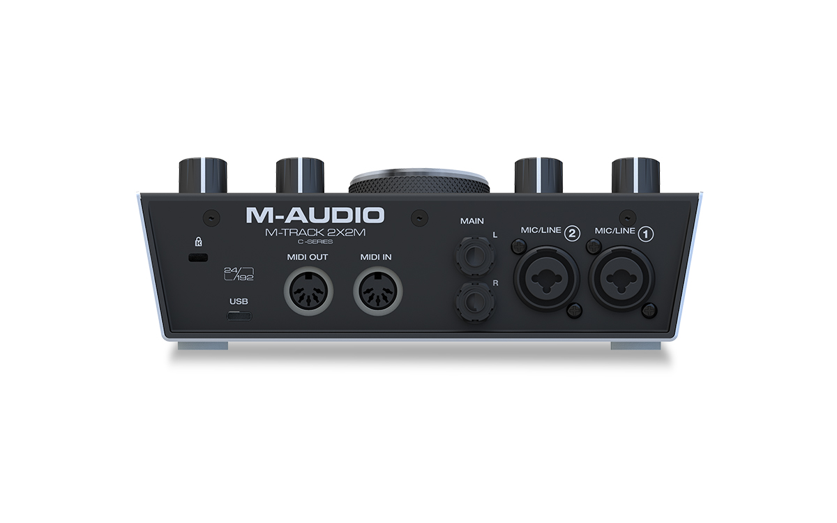 M-AUDIO M-TRACK 2x2M INTERFACCIA AUDIO USB MIDI 2 IN 2 OUT 24BIT 192KHz 1