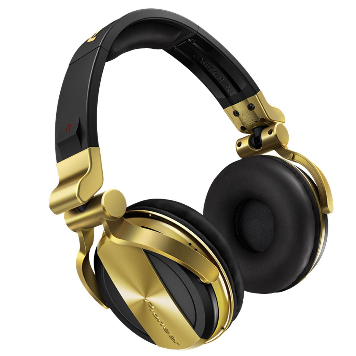 PIONEER HDJ1500-N CUFFIA PROFESSIONALE DINAMICA CHIUSA PER DJ COLORE NERO  ORO 0 c6d190abf351