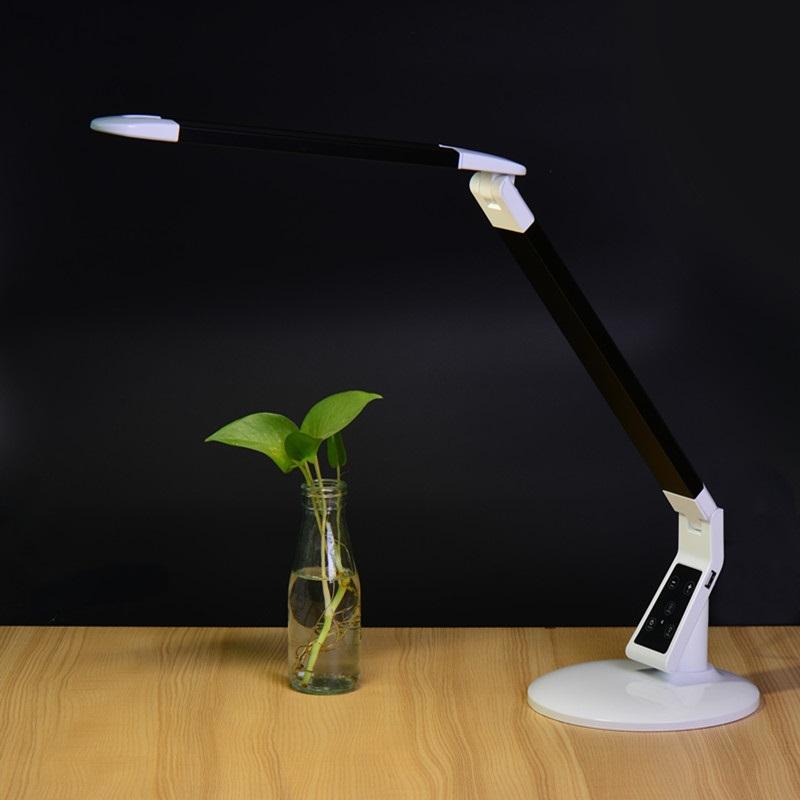 EXTREME DESK LAMP X100 BLACK LAMPADA REGOLABILE DA TAVOLO 60 LED CONTROLLO TEMPERATURA COLORE INTENSITA' TIMEOUT MEMORIA BIANCA E NERA 2