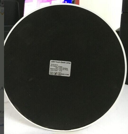 EXTREME DESK LAMP X100 BLACK LAMPADA REGOLABILE DA TAVOLO 60 LED CONTROLLO TEMPERATURA COLORE INTENSITA' TIMEOUT MEMORIA BIANCA E NERA 4