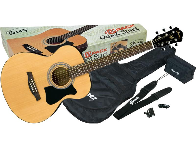 Ibanez vc50njp nt jam pack natural apx chitarra acustica for Ganci per appendere chitarre
