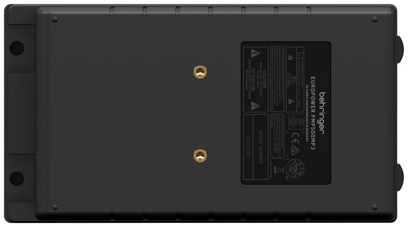 BEHRINGER PMP500MP3 EUROPORT MIXER AMPLIFICATO 8 CANALI EFFETTI FBQ 500 WATT 4 MIC XLR IN + 2 STEREO_3