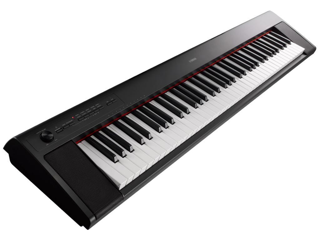 YAMAHA NP32 PIAGGERO NERO PIANO DIGITALE PORTATILE 76 TASTI 2