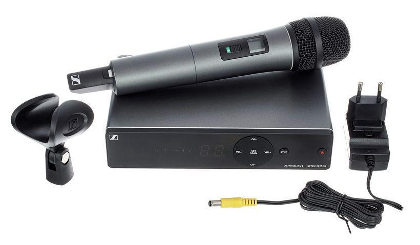 SENNHEISER XSW 1-825A RADIOMICROFONO PALMARE CAPSULA E825 RANGE A 548 – 572 MHz 0