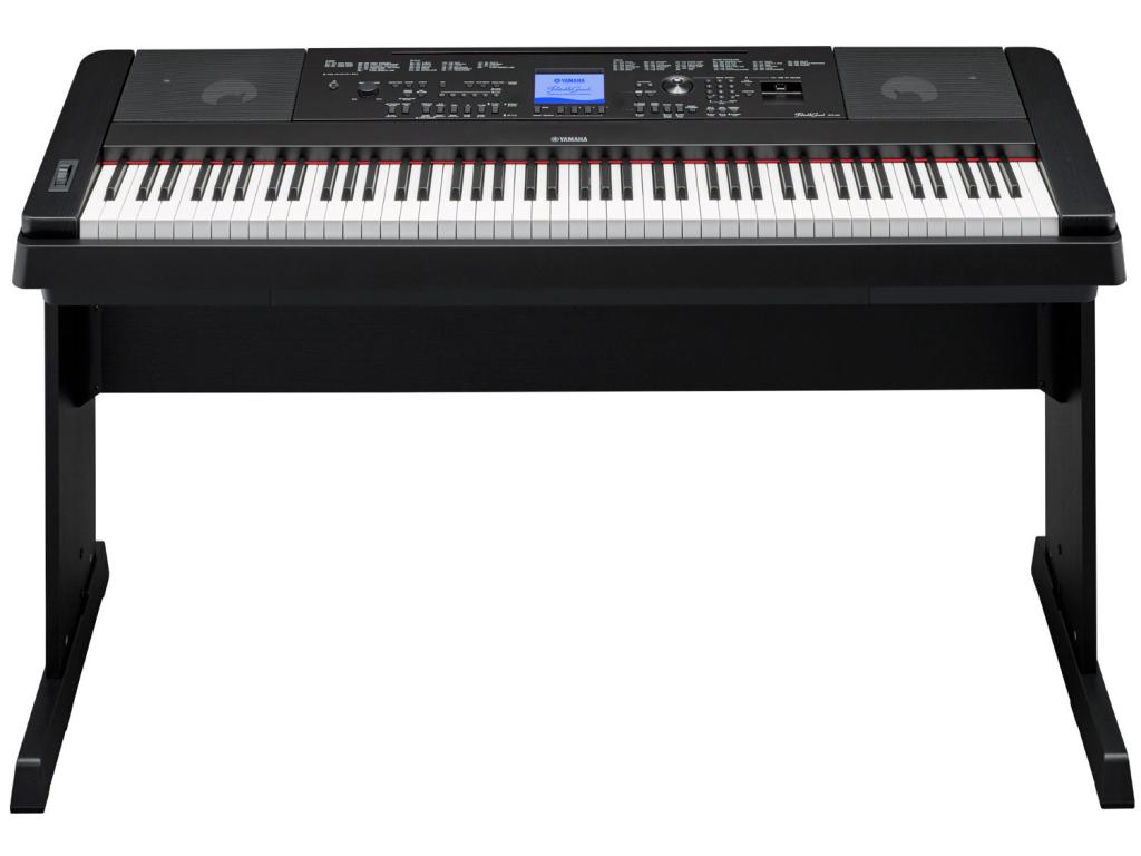 yamaha dgx660 black pianoforte digitale arranger 88 tasti. Black Bedroom Furniture Sets. Home Design Ideas
