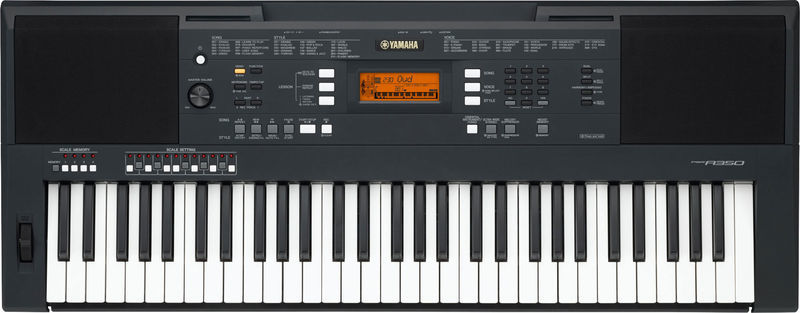 YAMAHA PSR A350 TASTIERA DIGITALE WORKSTATION ARRANGER 61 TASTI SENSIBILI AL TOCCO + DISPLAY LCD_1
