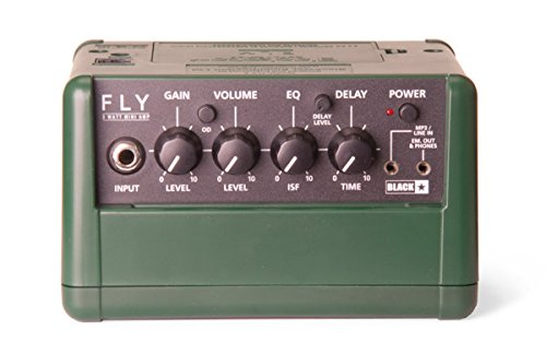 BLACKSTAR FLY3 STEREO PACK GREEN LIMITED EDITION AMPLIFICATORE STEREO PER CHITARRA 3 + 3 WATT DELAY + EQUALIZZATORE ISF 2