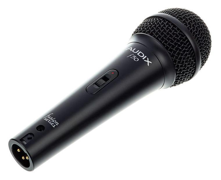 AUDIX F50S MICROFONO DINAMICO CARDIOIDE PER VOCE CON SWITCH ONOFF 1