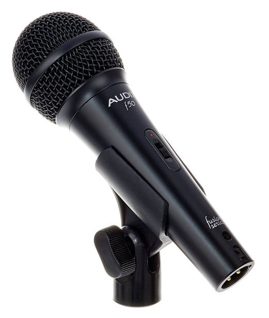 AUDIX F50S MICROFONO DINAMICO CARDIOIDE PER VOCE CON SWITCH ONOFF 4