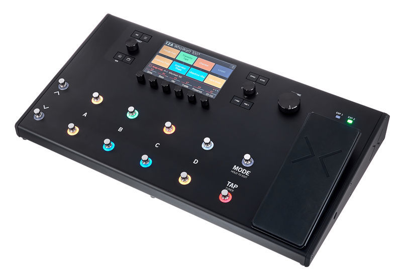 line 6 helix lt pedaliera multieffetto per chitarra pedale di espressione 12 switch ex demo. Black Bedroom Furniture Sets. Home Design Ideas