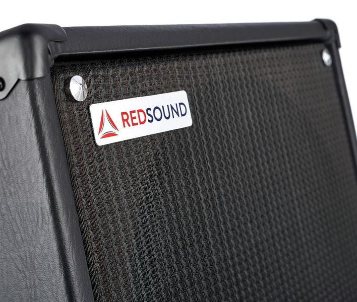RED SOUND RS-LG12 ACTIVE BLACK CABINET ATTIVO 250 WATT RMS PER PEDALIERA HEADRUSH REALIZZATO A MANO COLORE NERO 6