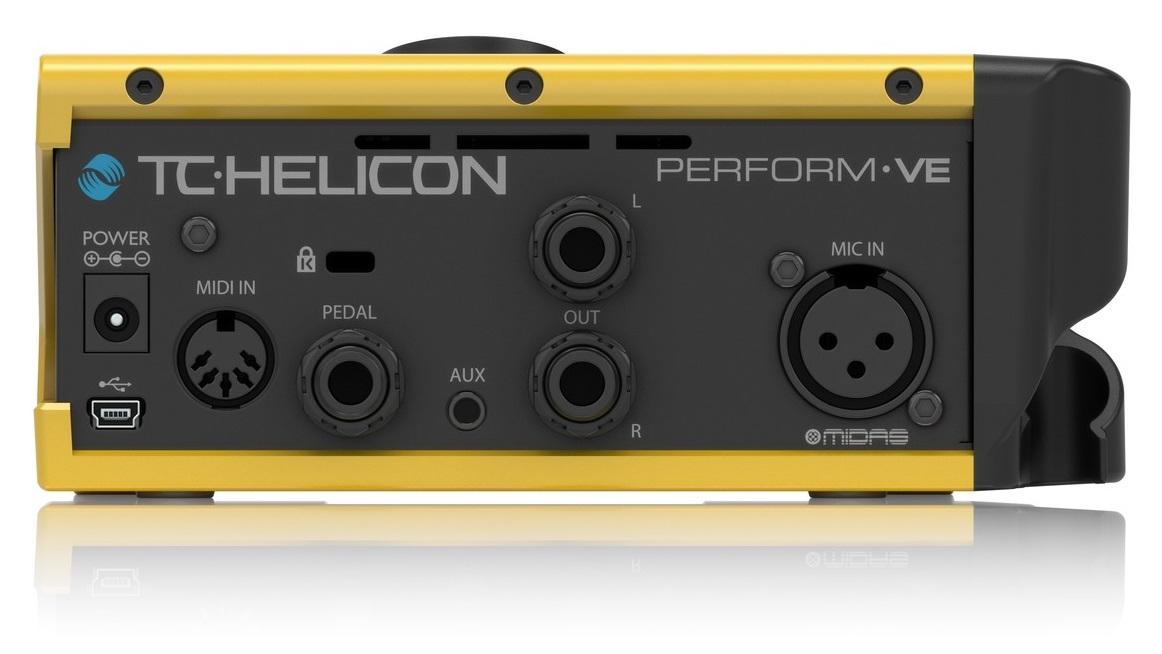 tc helicon perform ve processore di effetti per voce con drum looper. Black Bedroom Furniture Sets. Home Design Ideas