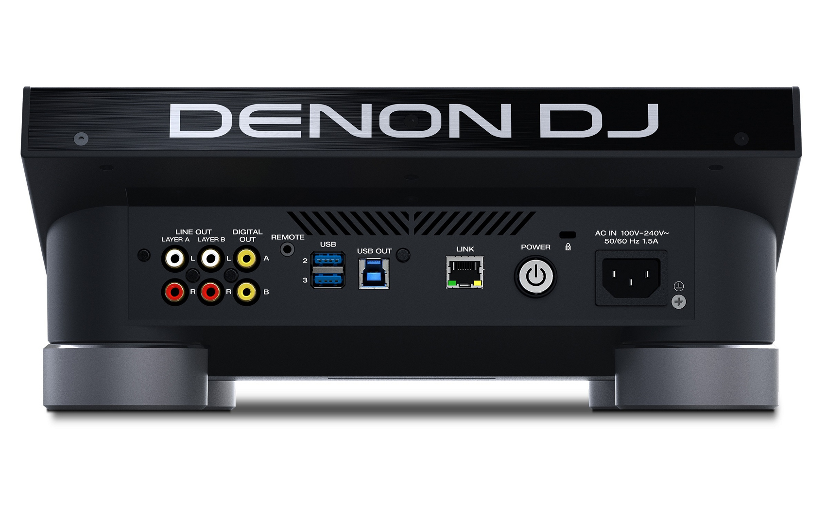 DENON DJ DC5000 PRIME LETTORE MEDIA PLAYER PER DJ USB SD CON DISPLAY HD 7 MULTI-TOUCH 3
