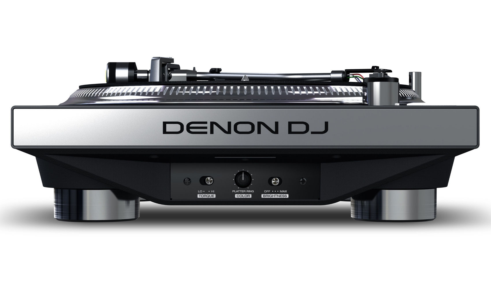 DENON DJ VL12 PRIME GIRADISCHI PER DJ A TRAZIONE DIRETTA CON ILLUMINAZIONE RGB DEL PIATTO 1