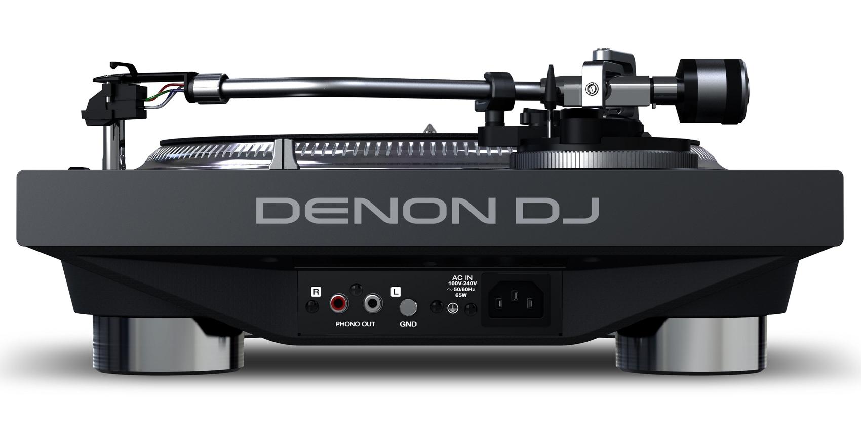DENON DJ VL12 PRIME GIRADISCHI PER DJ A TRAZIONE DIRETTA CON ILLUMINAZIONE RGB DEL PIATTO 2