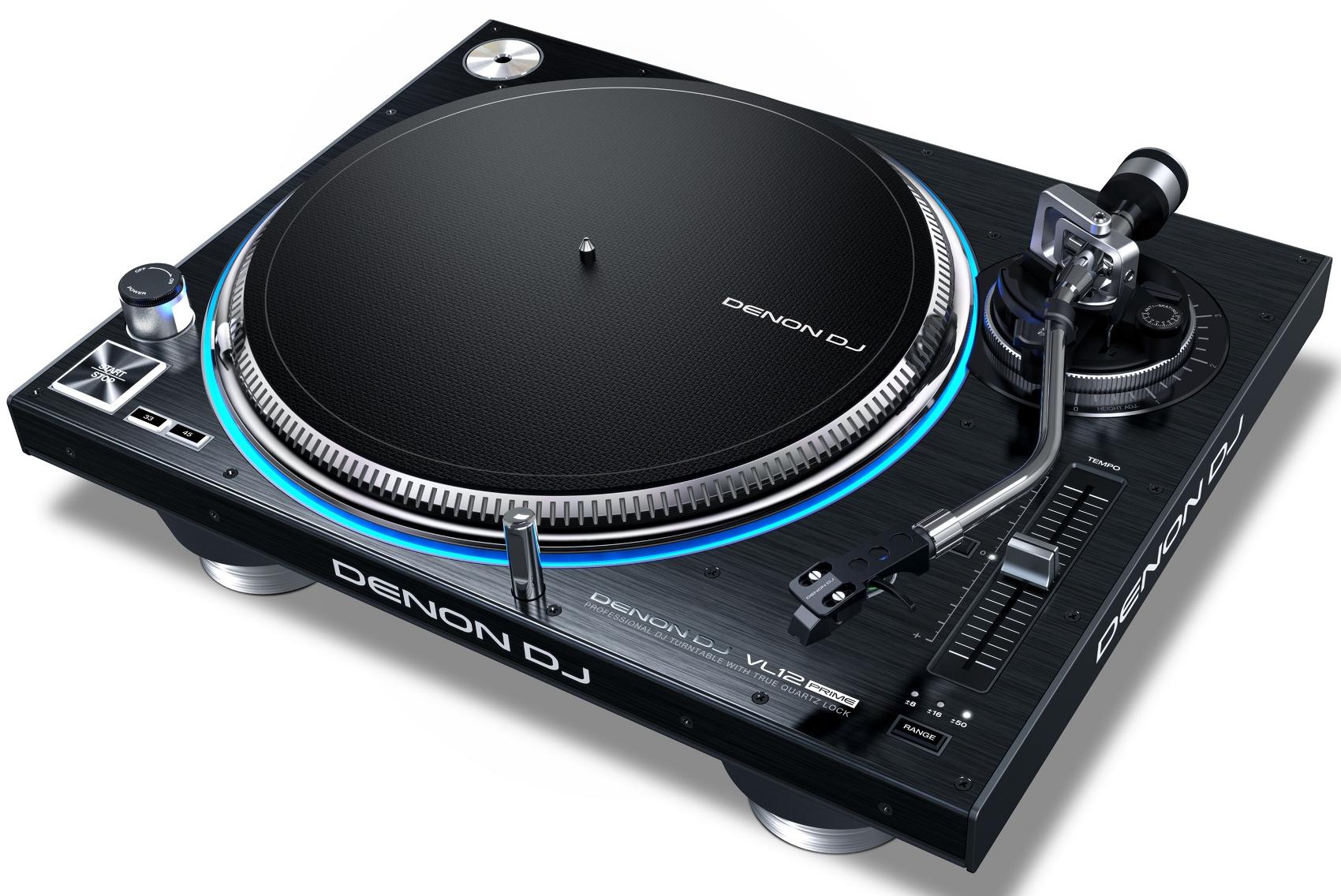 DENON DJ VL12 PRIME GIRADISCHI PER DJ A TRAZIONE DIRETTA CON ILLUMINAZIONE RGB DEL PIATTO 3