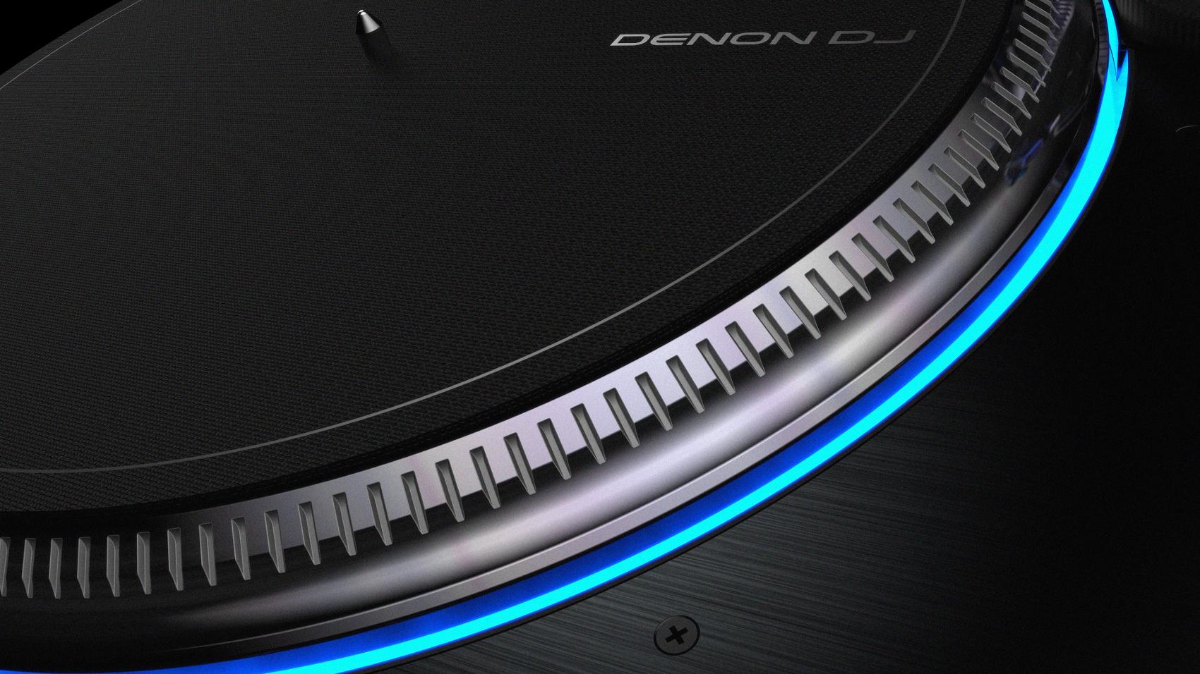 DENON DJ VL12 PRIME GIRADISCHI PER DJ A TRAZIONE DIRETTA CON ILLUMINAZIONE RGB DEL PIATTO 4
