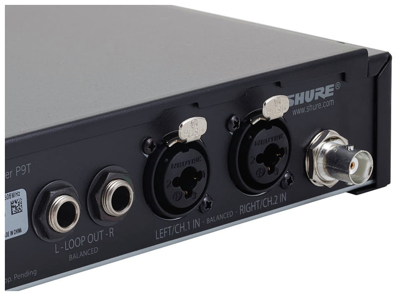 SHURE PSM900 P9TERA SISTEMA IN EAR MONITOR WIRELESS STEREO PROFESSIONALE MONTABILE A RACK 5