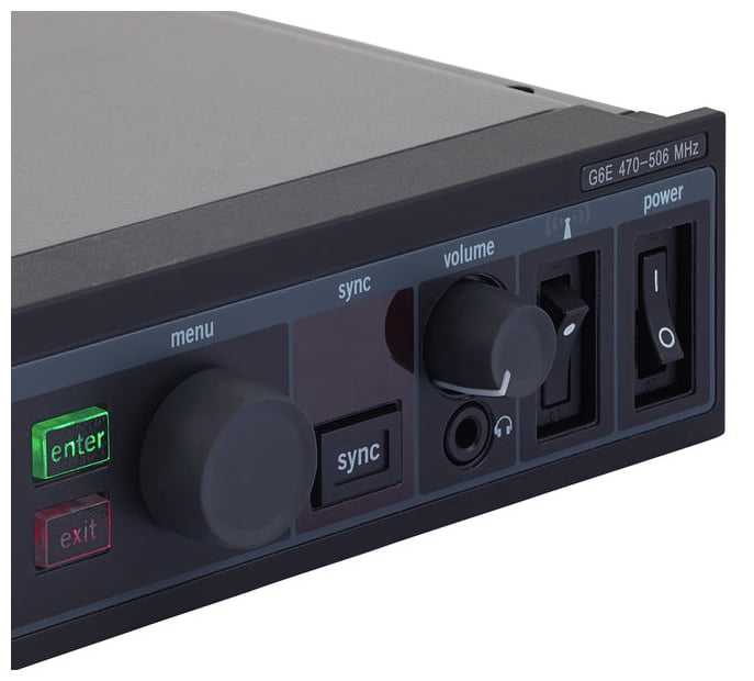SHURE PSM900 P9TERA SISTEMA IN EAR MONITOR WIRELESS STEREO PROFESSIONALE MONTABILE A RACK 6