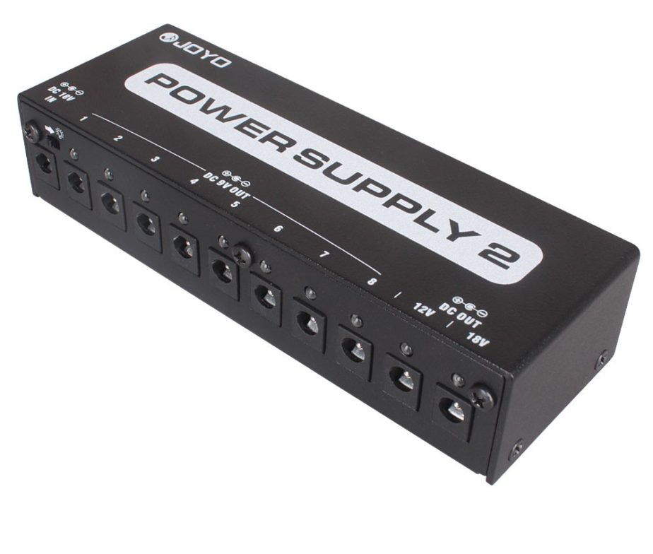 JOYO JP-02 ALIMENTATORE PER PEDALIERA EFFETTI MULTIPOWER SUPPLY CON 10 USCITE ISOLATE 2