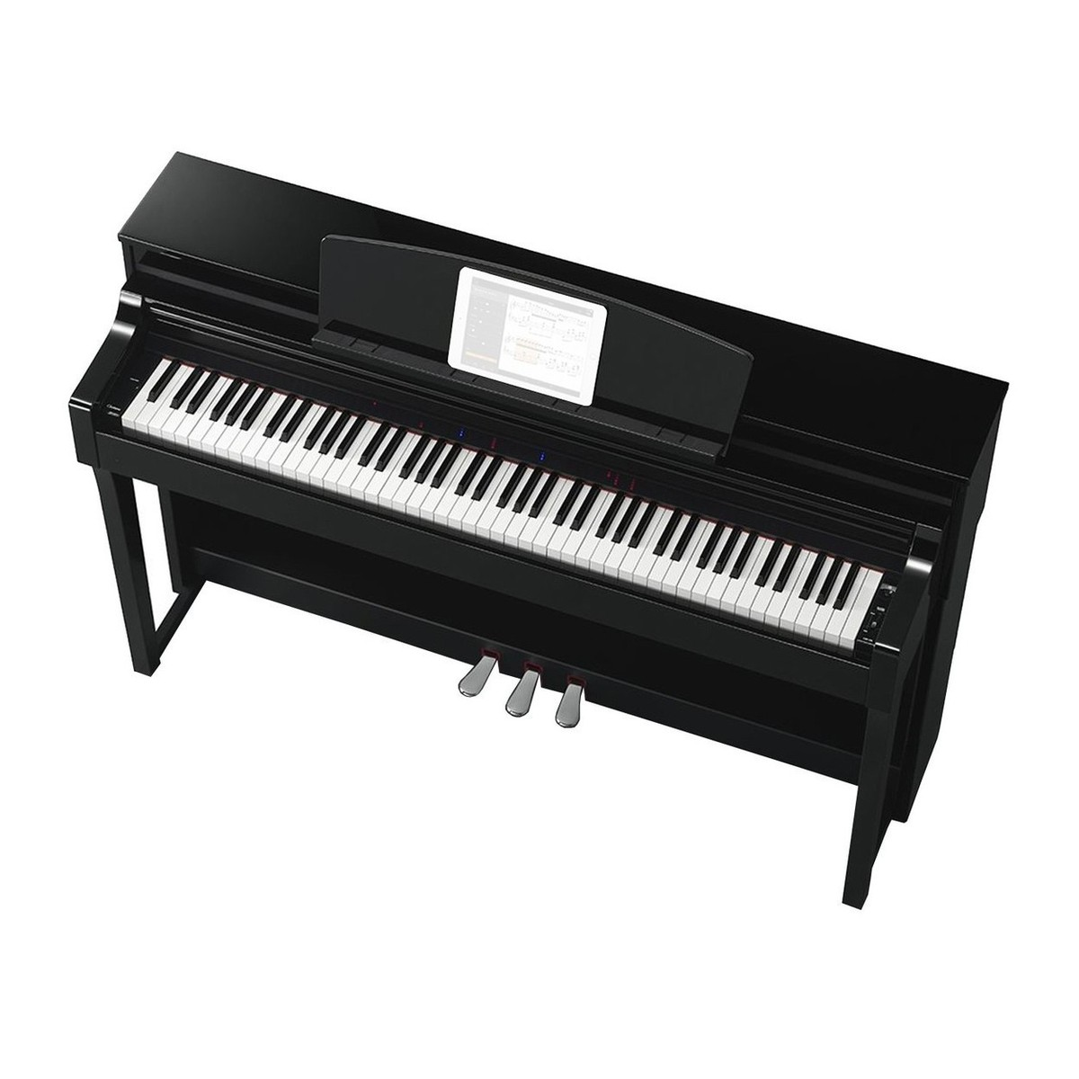 yamaha clavinova csp170 polished ebony pianoforte digitale. Black Bedroom Furniture Sets. Home Design Ideas
