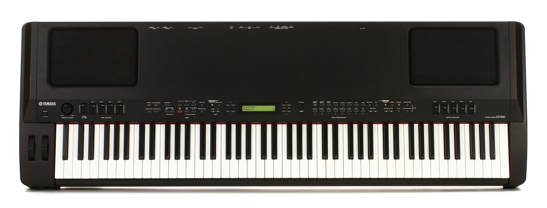Yamaha cp300 pianoforte da palco da 88 tasti colore nero for Yamaha stage piano cp300