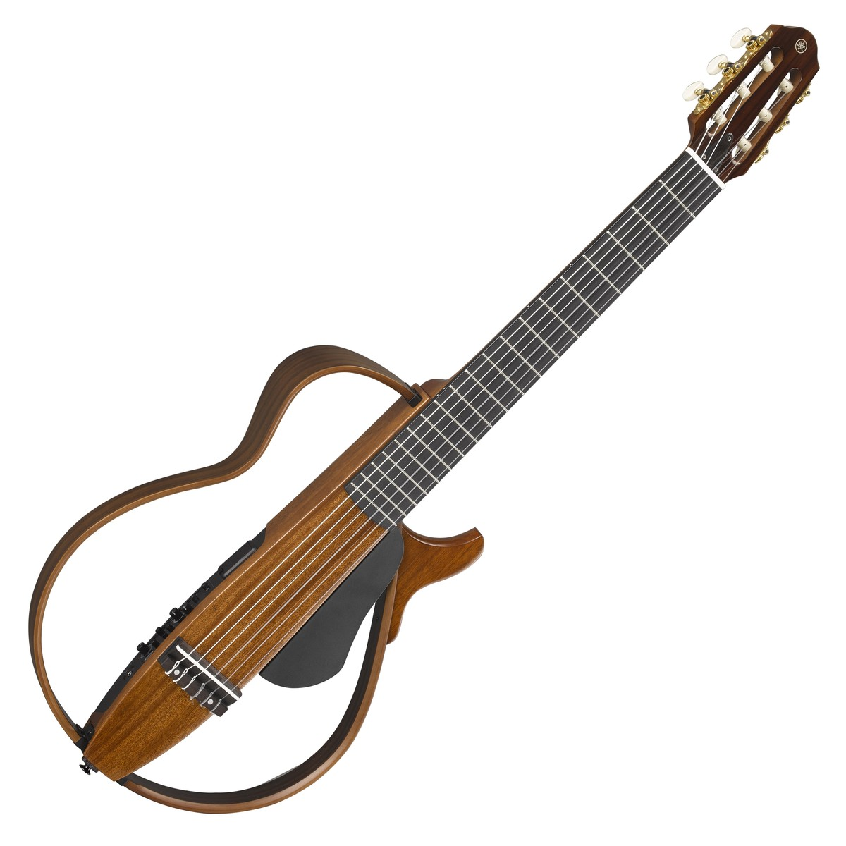 Yamaha slg200nw chitarra classica silent naturale for Ganci per appendere chitarre