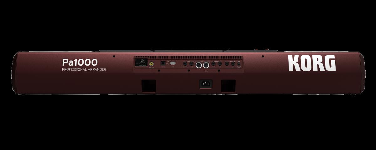 KORG PA1000 TASTIERA ARRANGER PROFESSIONALE 61 TASTI MIDI USB + USB TO DEVICE + SCHERMO TOUCH 7 1