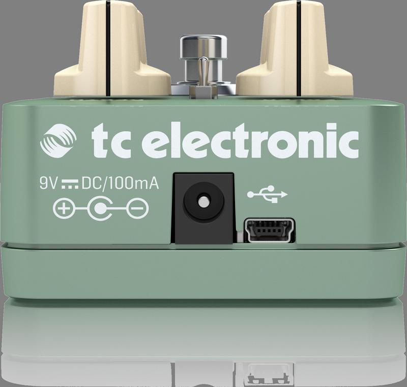 TC ELECTRONIC PIPELINE TAP TREMOLO TREMOLO A PEDALE PER CHITARRA CON TAP TEMPO 1