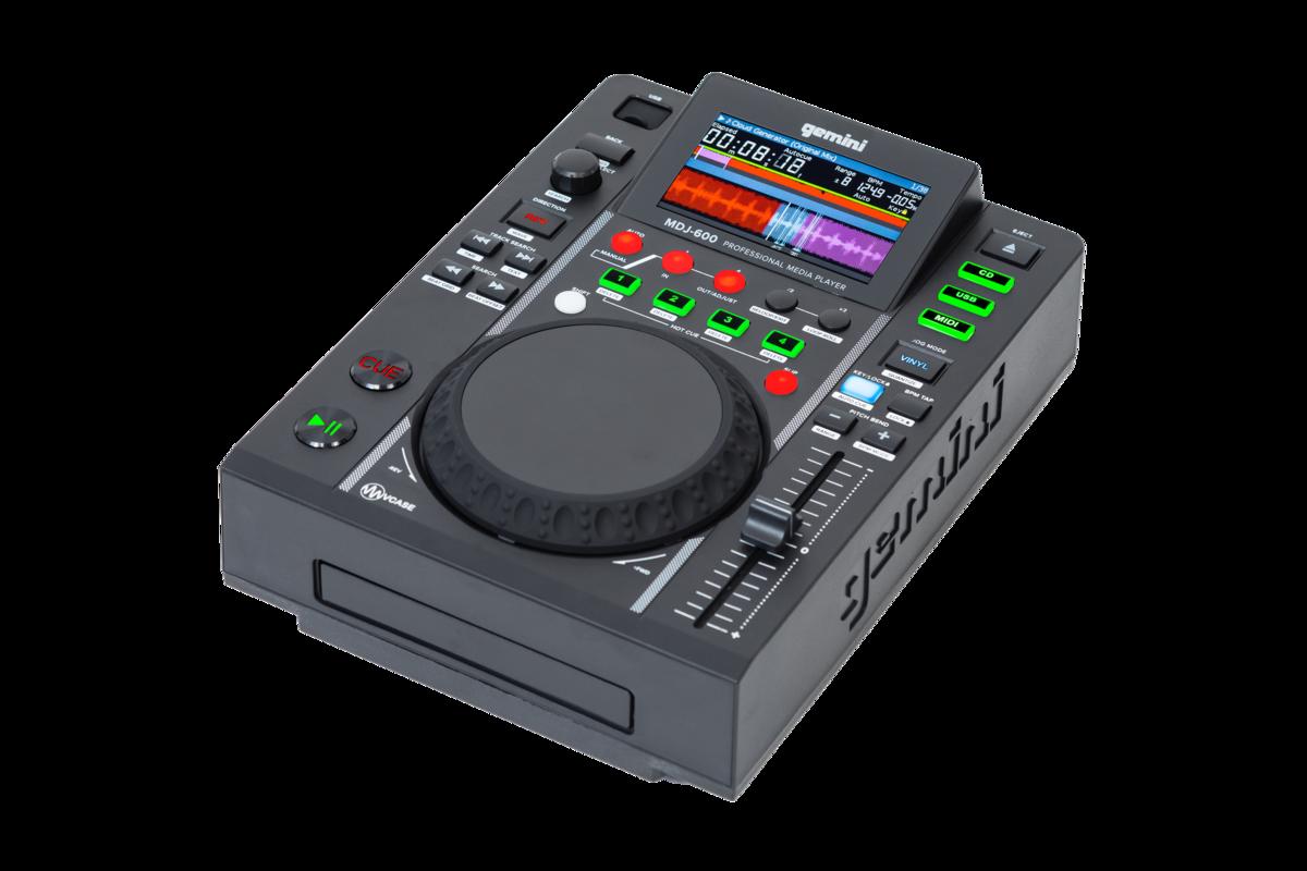 GEMINI MDJ600 LETTORE CD MEDIA PLAYER MP3 PROFESSIONALE USB PER DJ 1