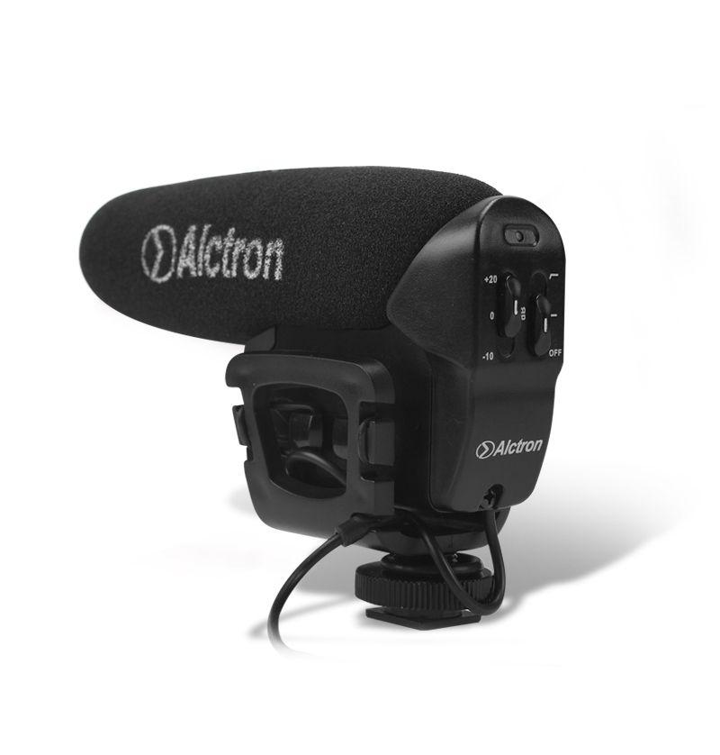 ALCTRON VM6 VIDEOMIC MICROFONO A CONDENSATORE PER VIDEOCAMERA