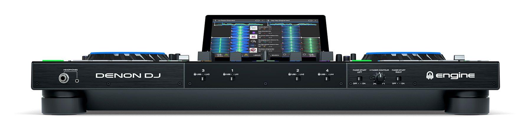 DENON DJ PRIME 4 CONSOLE CONTROLLER STANDALONE PER DJ 4 DECK CON TOUCH SCREEN 10 4x USB + SD CARD 2