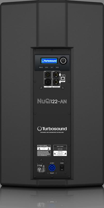 TURBOSOUND NUQ122-AN CASSA ATTIVA PROFESSIONALE 2500 WATT 12 DSP KLARK TEKNIK 1