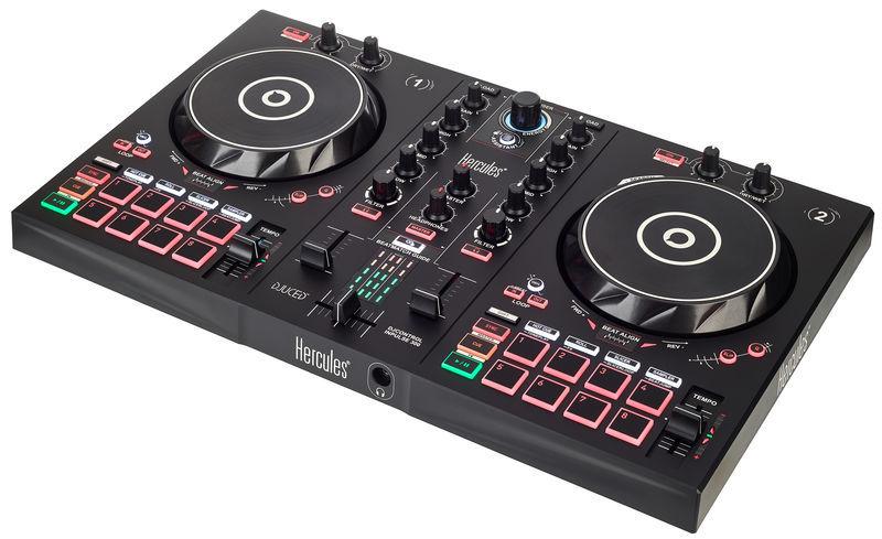 HERCULES DJ CONTROL INPULSE 300 CONTROLLER DIGITALE 2 DECK USB PER DJ 1