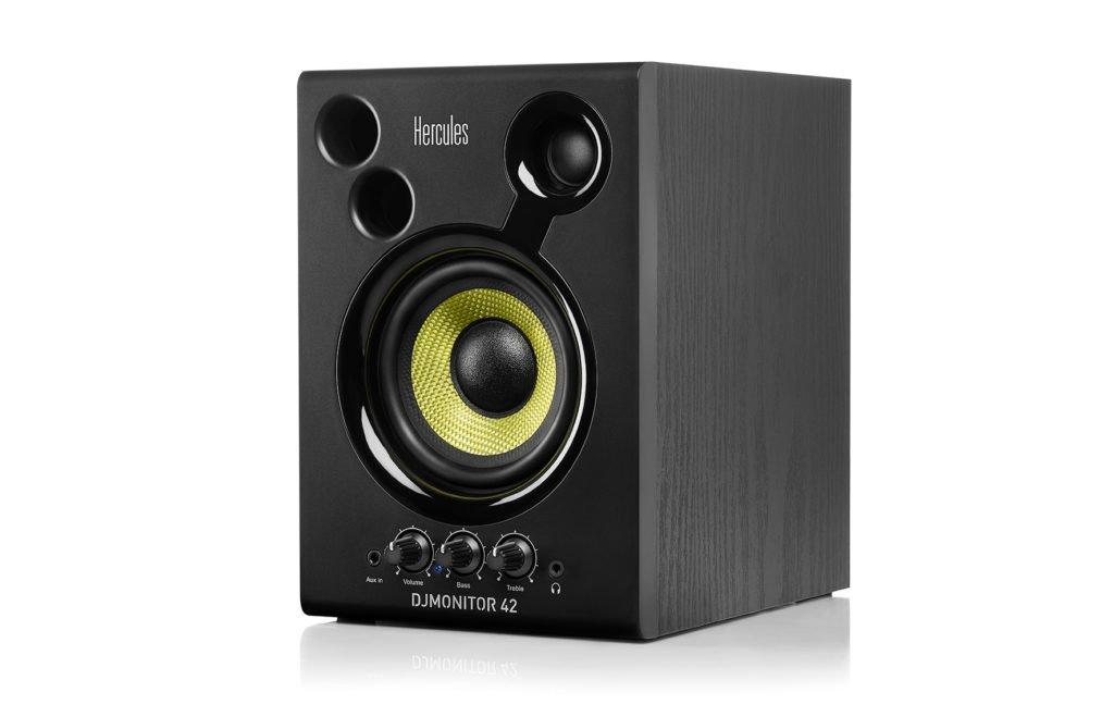 HERCULES DJ MONITOR 42 COPPIA MONITOR DA STUDIO ATTIVI 40W 4 2 VIE 3
