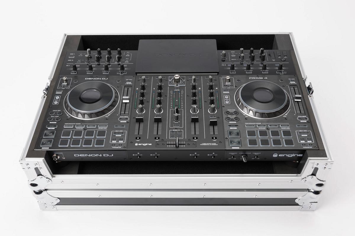 MAGMA DJ CONTROLLER CASE PRIME 4 FLIGHT CASE PER DENON PRIME 4 1